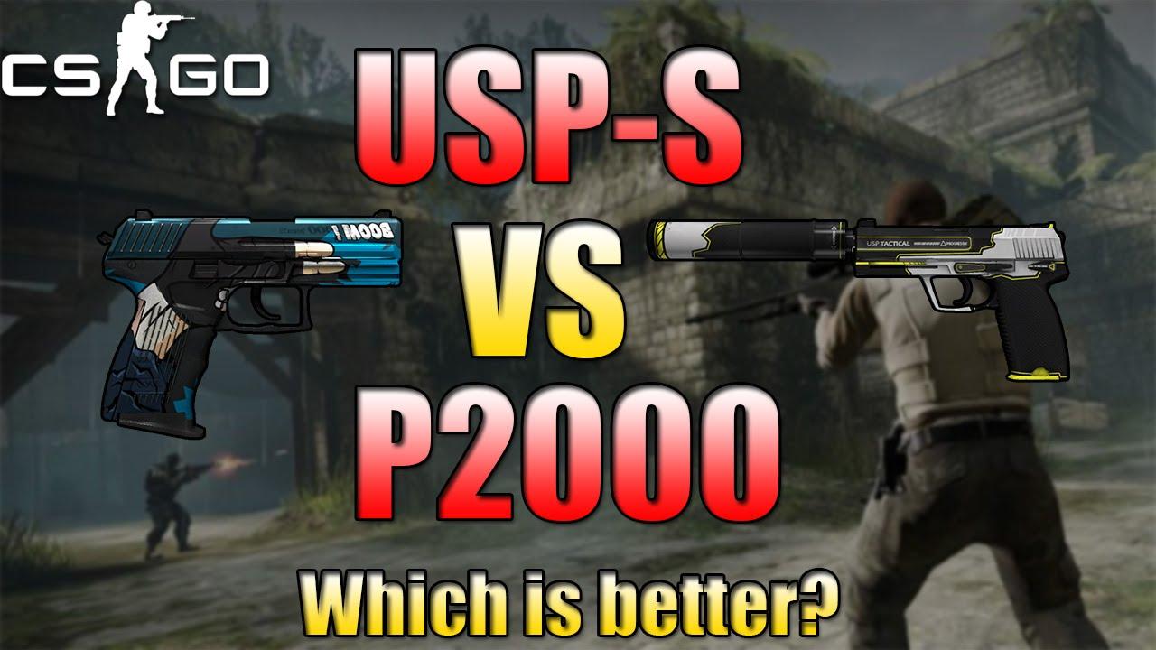 CSGO USP S Vs P20 Competitive Gameplay