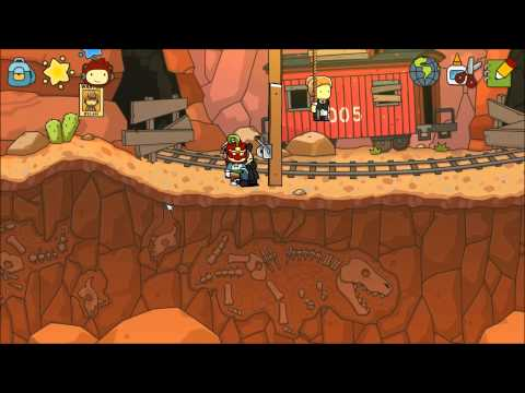 Let's Play Scribblenauts Unlimited Part 31 - Dusty Brush Canyon |
