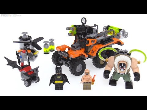 LEGO Batman Movie Bane Toxic Truck Attack review! 70914
