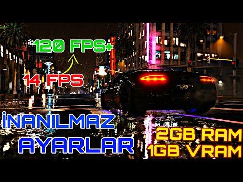 GTA 5 Düşük Sistemli Bilgisayarlar İçin Ayarlar V2 Fps Boost Lag Donma Yok!! (DETAYLI ANLATIM) İZLE✅
