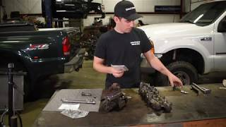 6.0 high pressure oil leak diag and repair