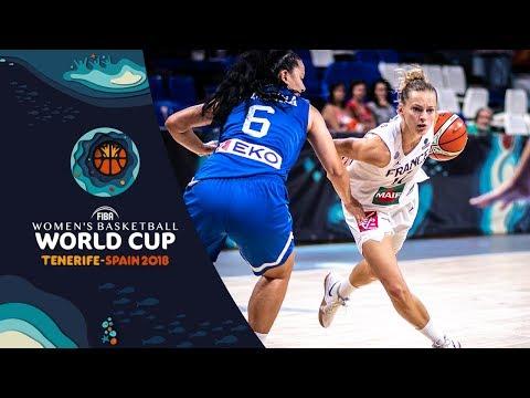 LIVE 🔴 - France v Greece - FIBA Women's Basketball World Cup 2018 (Geo-Rest.)