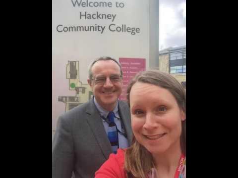 #1 with Ian Ashman, Principal, Hackney Community College