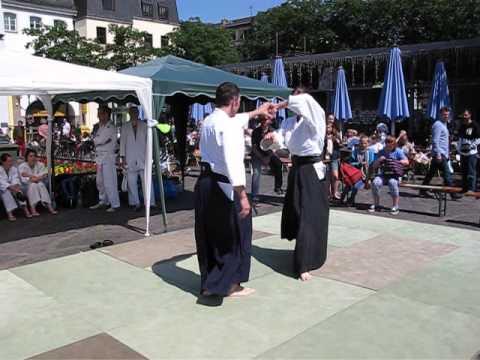 Aikido am Tag des Bonner Sports 2014 Part 1