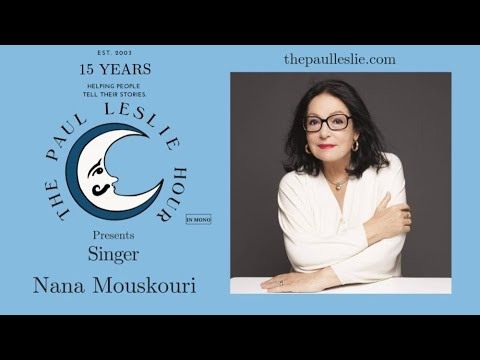 Nana Mouskouri Interview on The Paul Leslie Hour