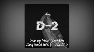 Baixar [1 HOUR LOOP] Agust D - Dear my friend (Feat. Kim Jong Wan)