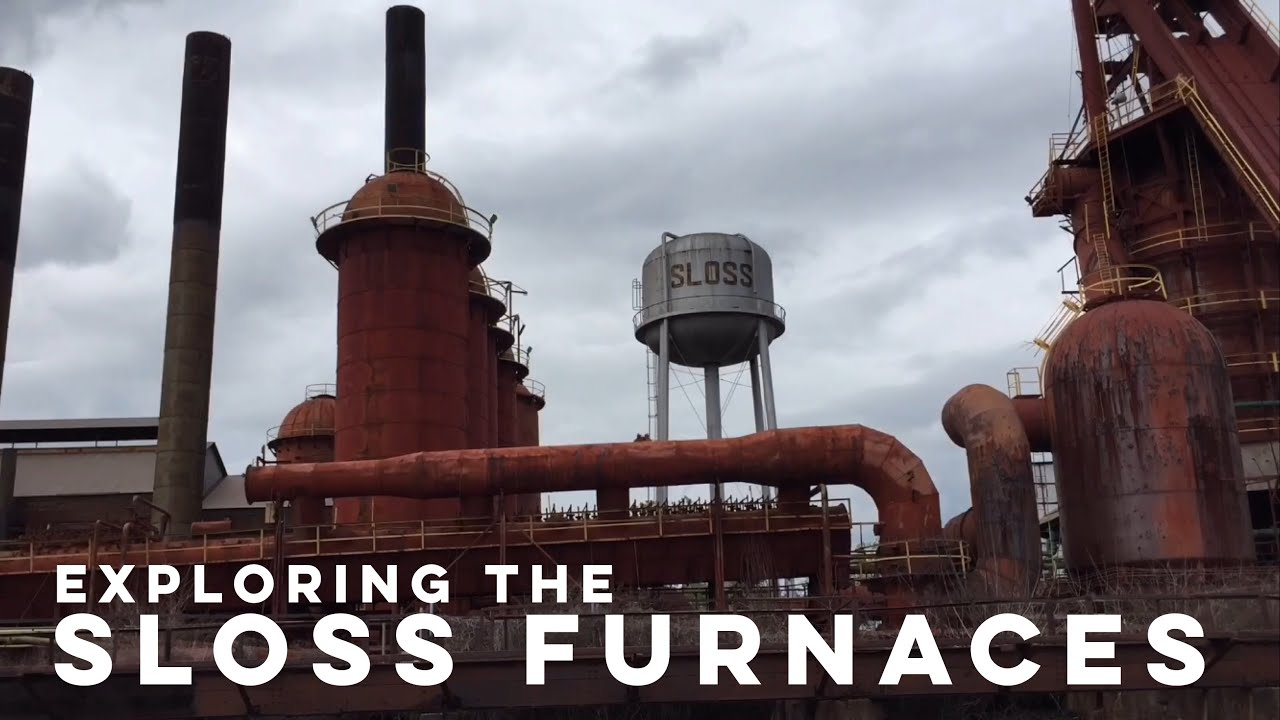 Exploring the Sloss Furnaces (Birmingham, Alabama) - YouTube