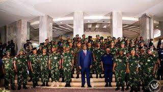01/12/20 URGENT L'ARMÉE ET LA POLICE CONGOLAISE ONT RENOUVELLÉS LEUR LOYAUTÉ AU COMMANDANT SUPRÊME