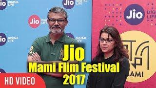 Nitesh Tiwari And Alankrita Shrivastava At Jio Mami Film Festival 2017 | 19th Mami Film Festival