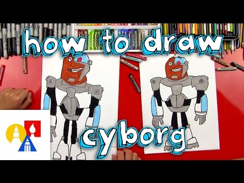 How To Draw Cyborg From Teen Titans Go