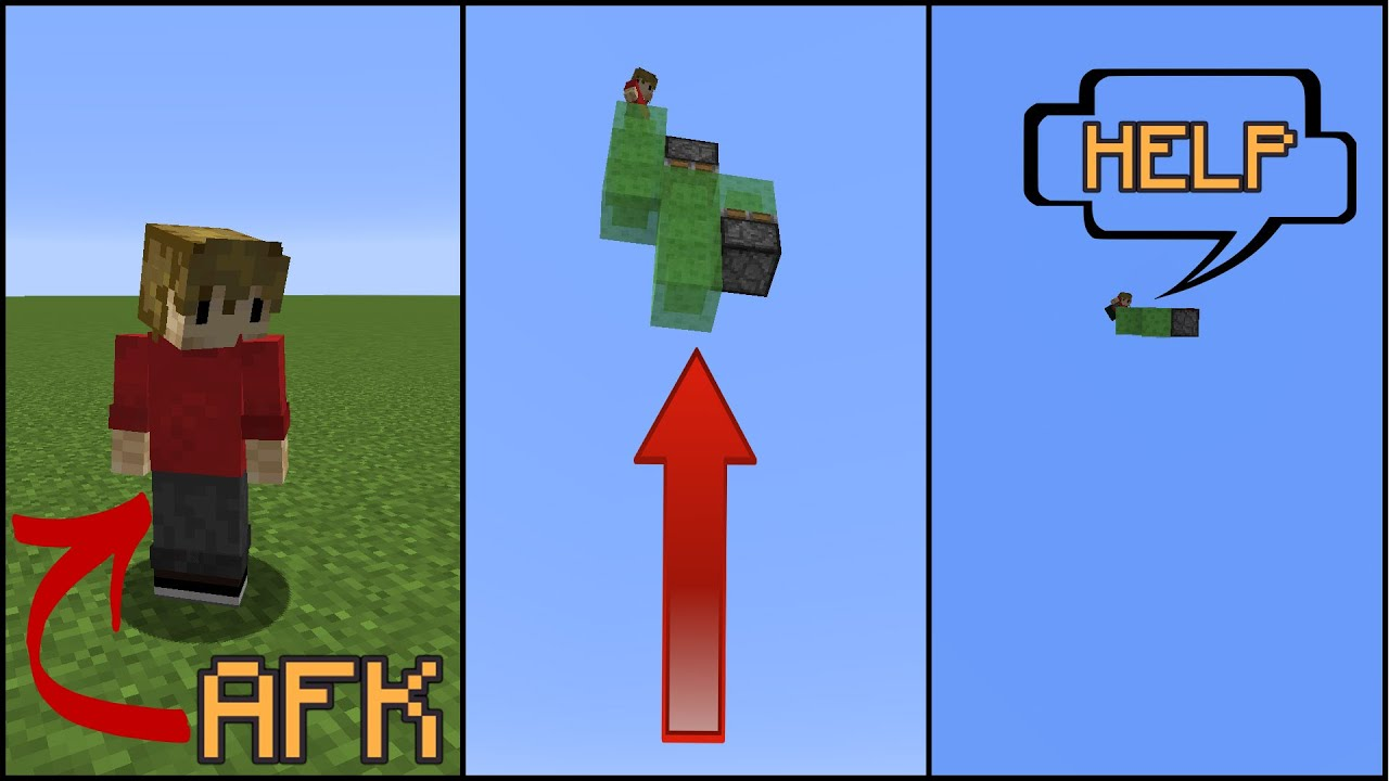 How To Mess With AFK Players In Minecraft!