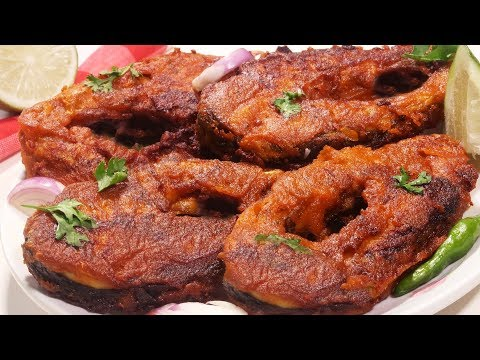 The Most Crispy Fish Fry Recipe | Simple/Easy And Delicious Spicy/Masala Fish Fry