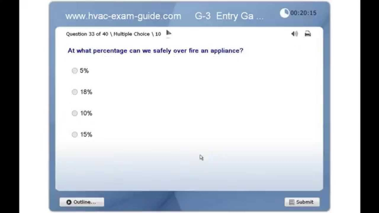 Hvac exam guide practice gas technician test g3 entry level hvac exam guide practice gas technician test g3 entry level xflitez Choice Image