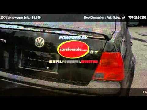 2003 Volkswagen Jetta Wolfsburg Edition - for sale in VA Beach, VA 23511