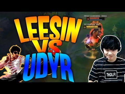Gầy Best Leesin | Đối Đầu Với Udyr Kèo Đầu Game Cực Khó Cho Leesin