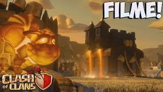 NOVO FILME DE CLASH OF CLANS - NEW CLASH OF CLANS MOVIE