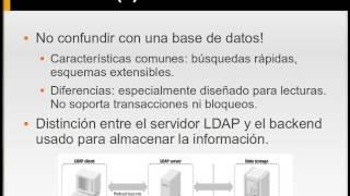 LDA1 Presentación de LDAP