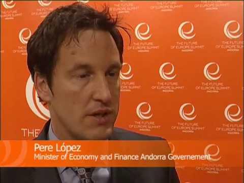 PERE LOPEZ - The Andorran Finance Minister declaration