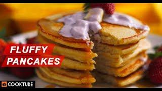 How to Make Fluffy Pancakes | Easy Pancake Batter Recipe | Breakfast Recipes