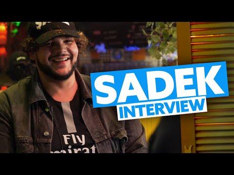 Interview Sadek : Le Brésil, la conception de son album, son point de vue sur la société actuelle...