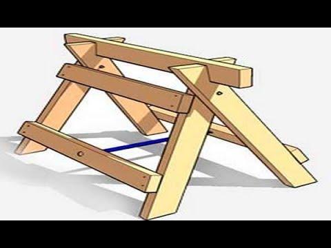 Как сделать строительный козел