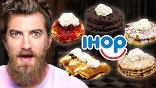 Every IHOP Pancake Flavor Taste Test