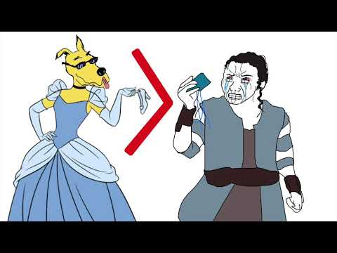 Cinderella is a Better Stong Female Protagonist than Star Wars' Rey