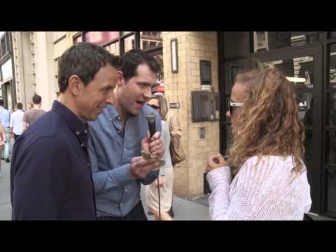 Seth and Billy on the Street