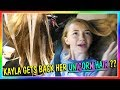 IS KAYLA GETTING HER UNICORN HAIR BACK? | We Are The Davises