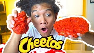 DIY GIANT Bacon Hot MAC & CHEETOS!!!!