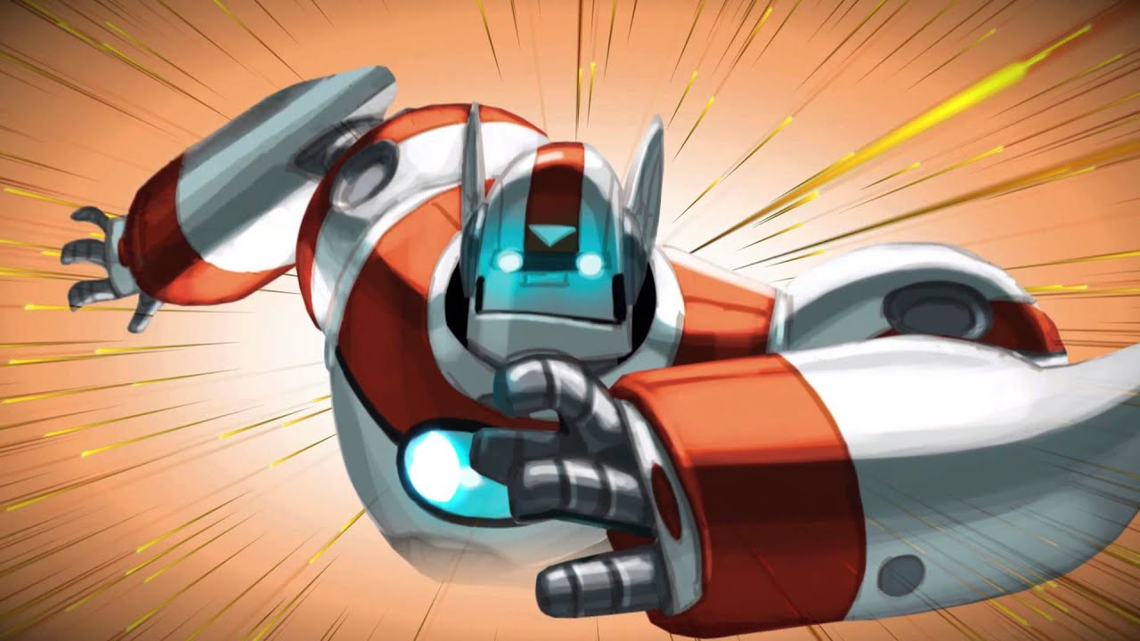 New Color Ricky Ricotta S Mighty Robot