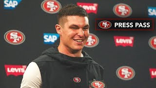 Nick Mullens Reacts to First Career Start and Win on 'Thursday Night Football'