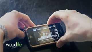WoodLife Paris - Etui Iphone deluxe en Bois