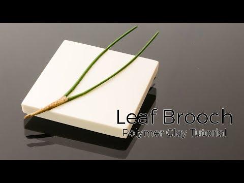 Leaf Brooch -
