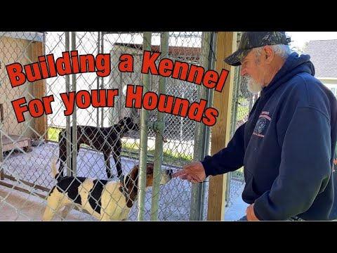 Building A Kennel For The Hounds
