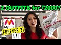 ₹2000 Outfit Challenge! Online Shopping In India - Myntra Edition | Heli