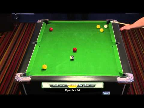 IPA Pool Tour Warwick 2015 Saturday Stream Pt 1