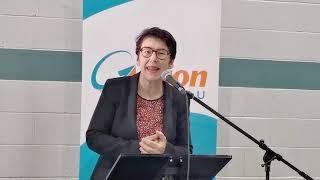 Emmanuelle ROUSSET, conférencière au FORUM d'action Gatineau