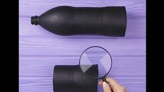how to make a telescope at home diy idea   5 minute crafts