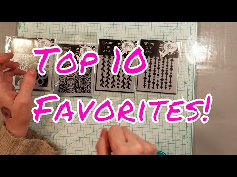 Top 10 Must Have Craft Supplies! Plus Bonus!