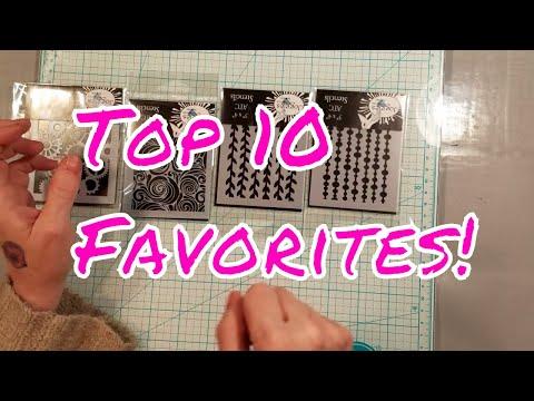 Top 10 Must Have Craft Supplies! Plus Bonus!