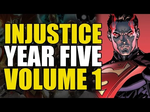 The Return of Doomsday?! (Injustice Gods Among Us: Year Five Volume 1)
