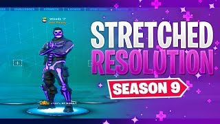 Fortnite NEW STRETCHED RESOLUTION *After Patch^ Season 9 | Fortnite MORE FOV Glitch (135 Fov)