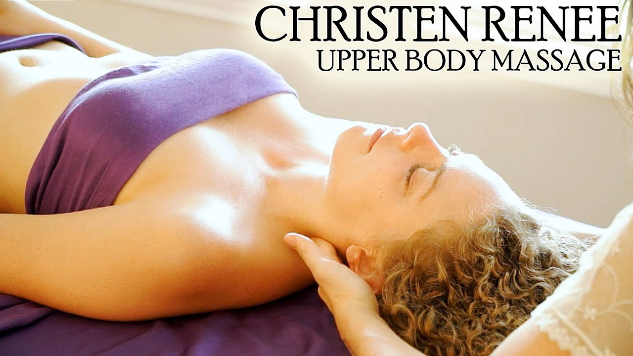 Swedish Massage Therapy, Upper Body Massage Techniques -1174