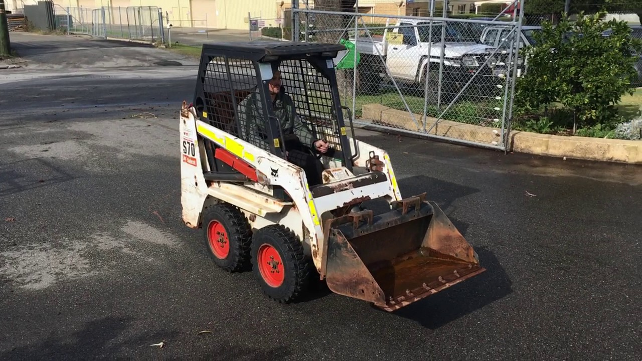 For Sale Bobcat S70 Mini Skid Steer Loader 463 Youtube