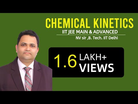 CHEMICAL KINETICS   NV SIR( B.Tech. IIT Delhi)     IIT JEE MAIN + ADVANCED   AIPMT   CHEMISTRY