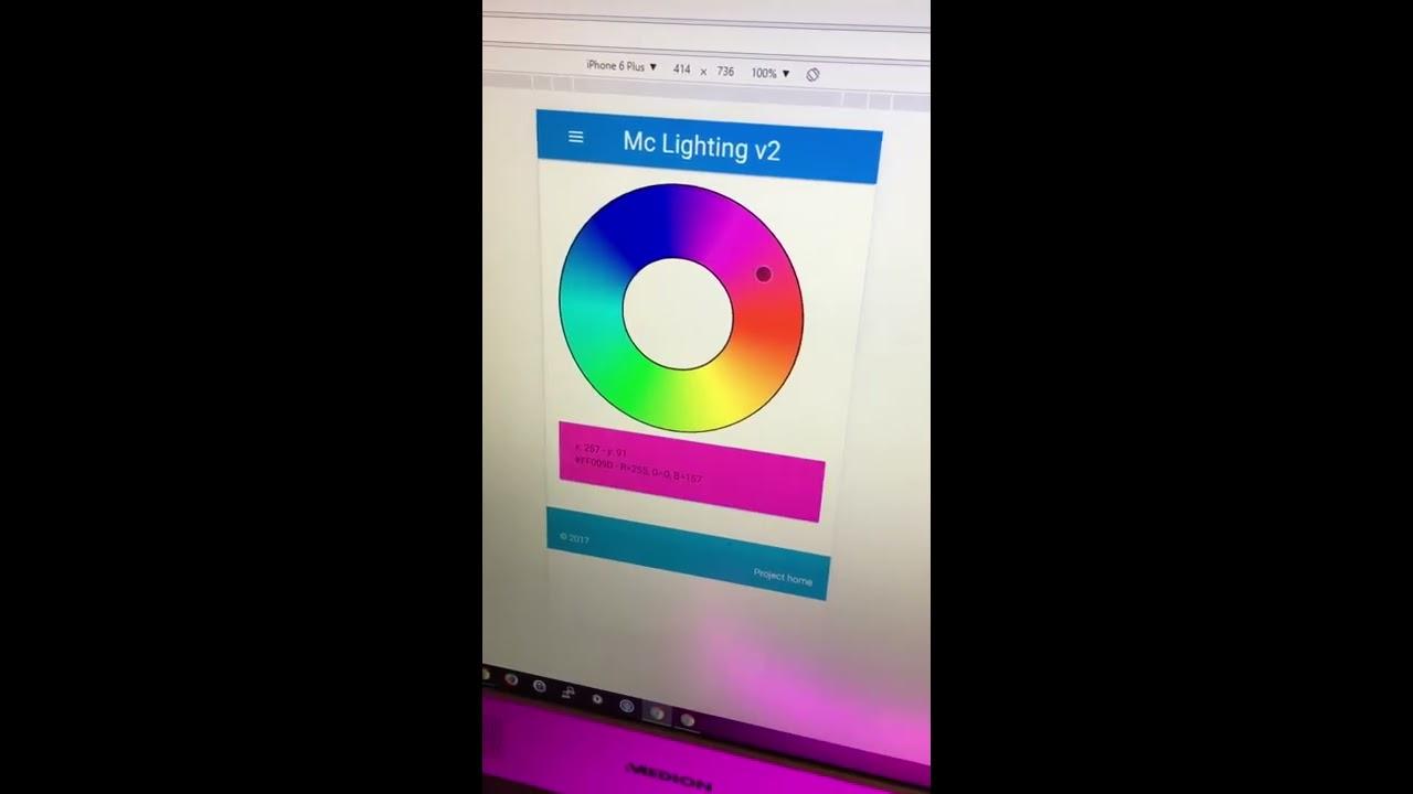 McLighting v2 ist da: Animations demo by Tobias Blum