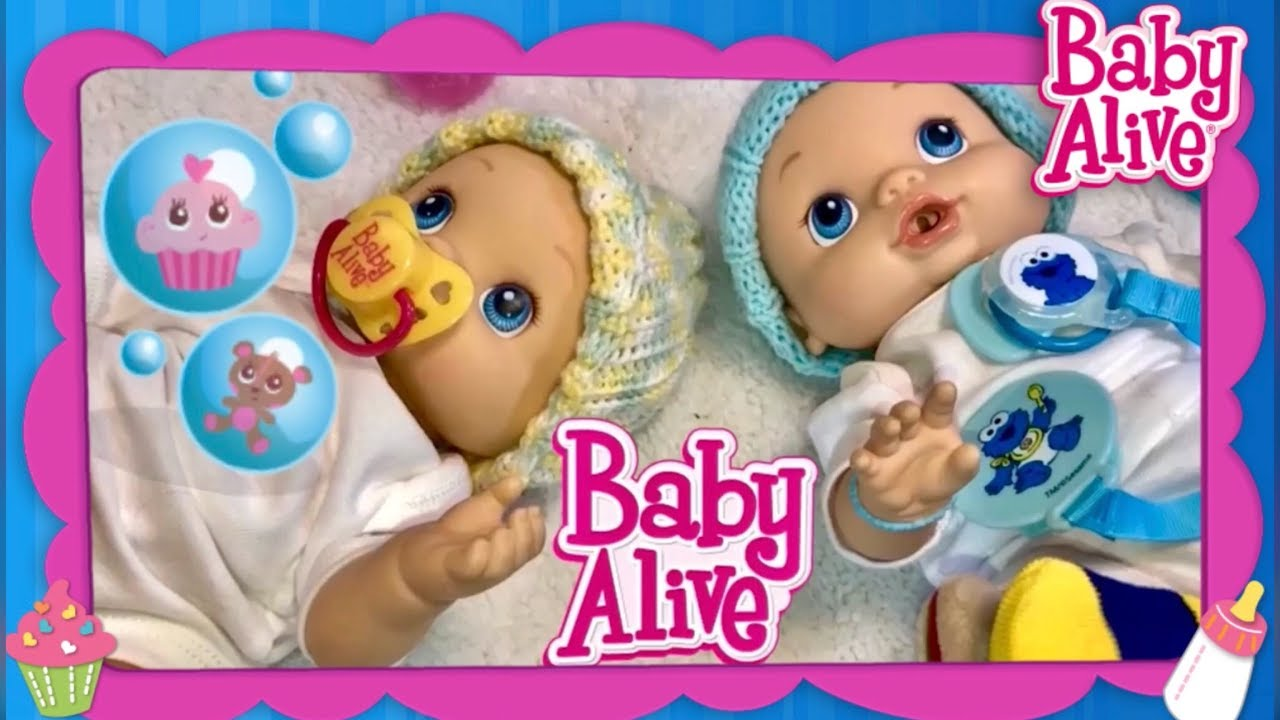 Baby Alive Twins Wets N Wiggles New Matching Outfits And
