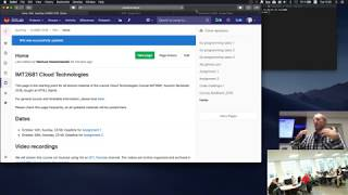 IMT2681 Cloud Technologies: Web crawl chat. Introduction to AWS.