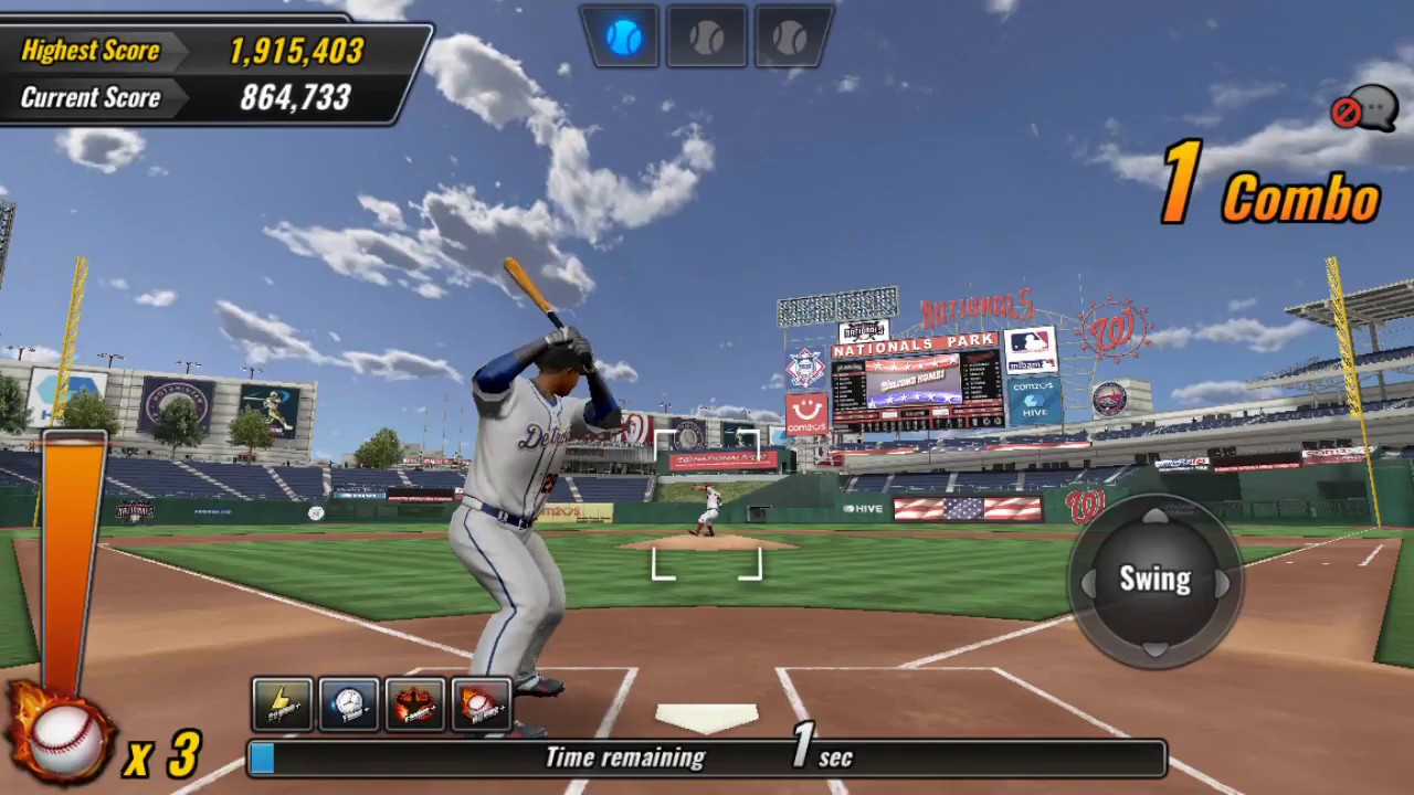 Diamonds, Combos, packs, Arcade, and more MLB 9 Innings 18